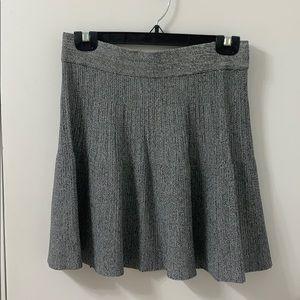 Club Monaco knit skater skirt